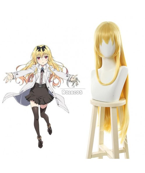 Arifureta: From Commonplace to World's Strongest Yue Blonde Long Cosplay Wigs