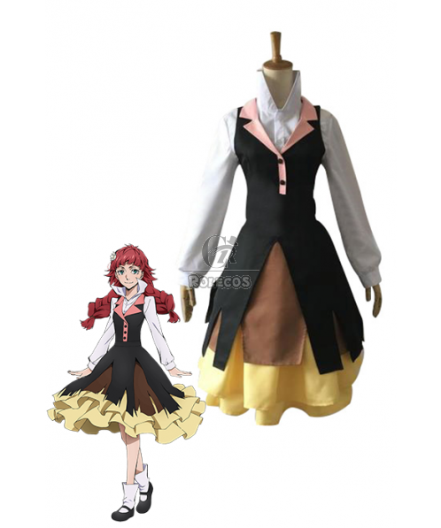 Disfraces Bungou perros callejeros Lucy Maud Montgomery Cosplay Anime