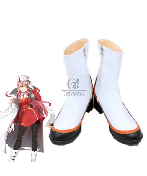 DARLING in the FRANXX Anime Cosplay  02 Zero Two Boots
