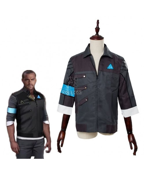 Detroit Become Human RK200 Markus Uniform Cosplay Costume
