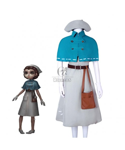 Game Fifth Personality Doctor  Emily Nguyen Cosplay Costumes Full Sets