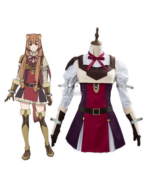 The Rising of the Shield Hero Raphtalia Cosplay Costume Full Sets