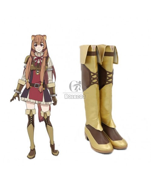 The Rising of the Shield Hero Raphtalia Cosplay Shoes