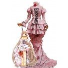 Chobits Chi Cute Pink Long Dress Cosplay Costumes