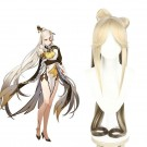 Game Genshin Impact Ningguang Blond Gradient Cosplay