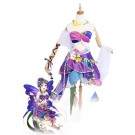 Love Live! Flower Fairy Awaken Nozomi Tojo Purple Anime Coaplay Dress