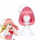 Magical Girl Ore Saki Uno Pink Long Woman Synthetic Cosplay Wig