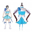 Magical Girl Ore Sakuyo Mikage Blue Uniform skirt Anime Cosplay Costumes