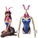 OW Game D.Va Hana Song Mercy Angel Bunny girl Cosplay Costume