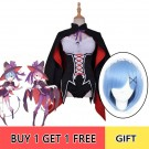 ReZERO -Starting Life in Another World Rem Ram Anime Little Devil Halloween Cocplay Costume