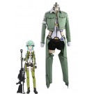 Traje de Cosplay Sinon caliente animado Sword Art Online