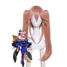 Fate/Grand Order Tamamo-no-Mae Long Peach  Synthetic Anime Cosplay Wigs