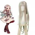 Toilet-Bound Hanako-kun Yashiro Nene Gray Mixed Green Long Cosplay Wigs