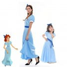 Peter Pan Wendy Darling Cosplay Hallowen Party Dress