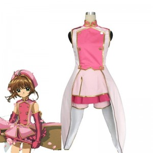 2do traje de cosplay Card Captor Sakura Kinomoto Sakura