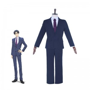 WotaKoi Love is Hard for Otaku Hirotaka Nifuji Blue Suits for Men Cosplay  Costume