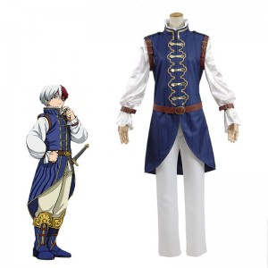 My Hero Academia Shōto Todoroki Anime Cosplay Costume Full Sets