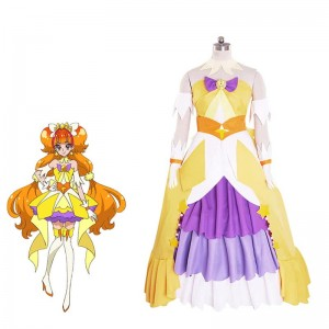 Fresh Pretty Cure Traje de Cosplay Kirara Amanogawa