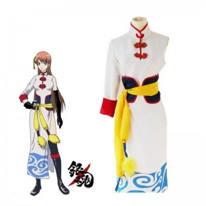 Gintama Kagura Theatrical Edition Cheongsam Cosplay Costume