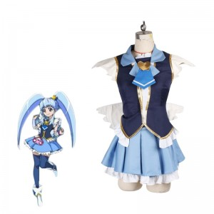 Fresh Pretty Cure Traje de Cosplay Hime Shirayuki