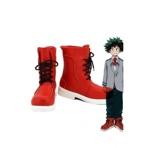 My Hero Academia Izuku Midoriya Anime Cosplay Shoes Ankle Boots