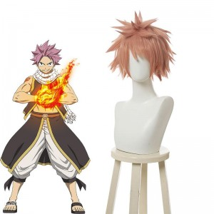 FAIRY TAIL Natsu Dragneel Cosplay Wig