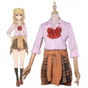 Anime Citrus Yuzu Aihara Uniform Dress Cosplay Costumes