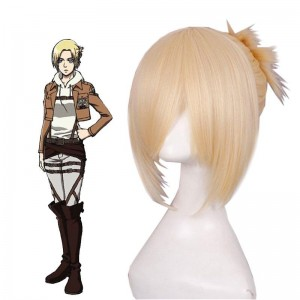 Attack on Titan Annie Leonhart Blond Cosplay Wigs