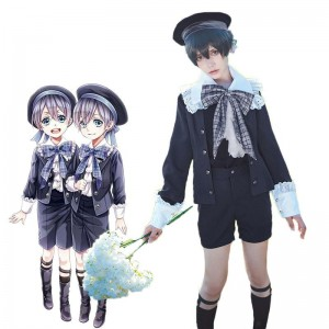 Black Butler Ciel Phantomhiv Childhood Cosplay Costume