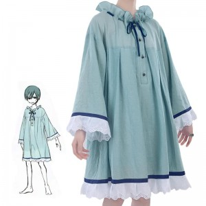 Black Butler Ciel Phantomhive Blue Retro nightdress Cosplay Costume