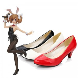 Bunny Girl Daily High Heels 3 Colors Cosplay Shoes