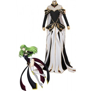 Traje de Cosplay Código Geass CC animado Queen Dress