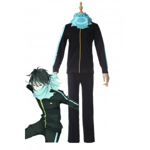 Anime Noragami Yato Jersey Cosplay Costume Outfits