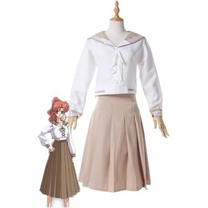 Sailor Moon Sailor Jupiter Kino Makoto 4 Disfraces Cosplay blanco de la serie
