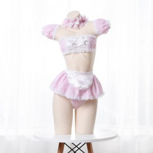Cute Maid Sexy Lingerie 4 Colors Cosplay Costume