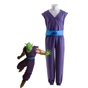 Dragon Ball Para Uniformes Piccolo Cosplay de la púrpura
