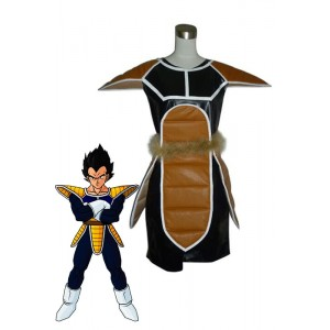 Moda Dragon Ball Vegeta Cosplay del traje Así