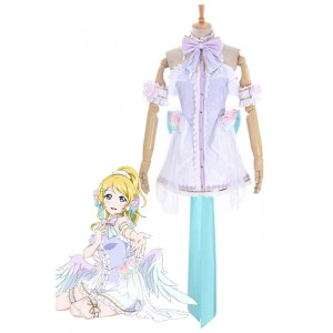 Love Live Eli Ayase White Valentine's Day Cosplay Costume