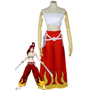 Fairy Tail Disfraces Erza Scarlet Cosplay