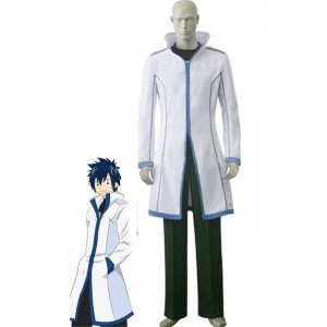 Fairy Tail Gray Fullbuster traje de cosplay