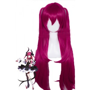 Fate/Grand Order Elizabeth Bathory Long Rose Red Cosplay Party Woman Wigs