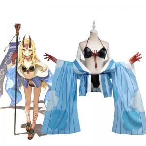 FateGrand Order Ibaraki Douji Anime Swimsuit Cosplay Costume