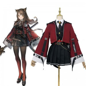 Game Arknights Skyfire Cosplay Costume