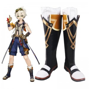Game Genshin Impact Bennett Cosplay Shoes