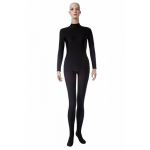 Black Tight Anime Woman and Man Cospaly Leotards