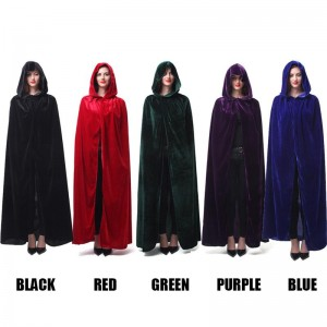 Halloween Cloaks Witch Cosplay Costumes Fancy Balls Costumes