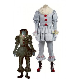 Halloween Movie It Pennywise Cosplay Costumes