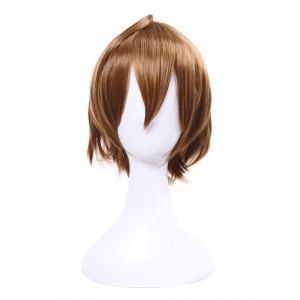 Brown anime cosplay wig