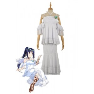Love Live Sunshine Angel Aqours Unawaken Kanan Matsuura White Dress Anime Cosplay Costumes