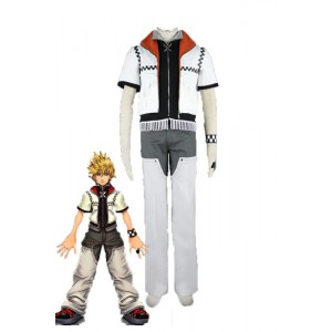 Kingdom Hearts II Cosplay Costume Roxas Outfit 1st Version Set